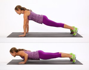 ground push-ups