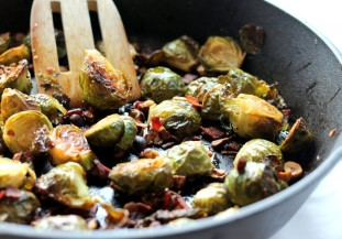 roasted b sprouts
